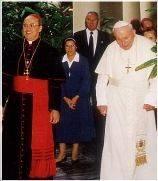 Imágenes, homilías, textos y fotogalerías, de la visita del Santo Padre Juan Pablo II